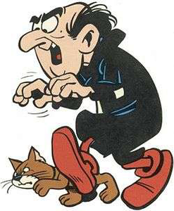 Gargamel_and_Azrael_from_the_Smurfs