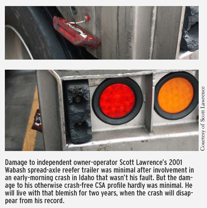 Scott Lawrence damage
