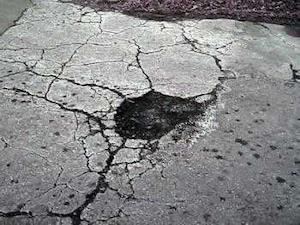 Mastodon in an OK Turnpike pothole