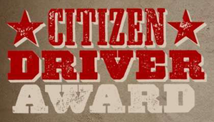 Click through the image to  nominate a driver for the Citizen Driver award.