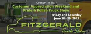 To register your truck to compete in the Fitzgerald Truck show next week, click through the image.
