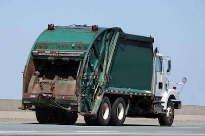 Garbage truck or T-Rex