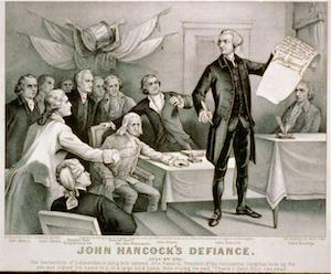 John Hancock's Defiance
