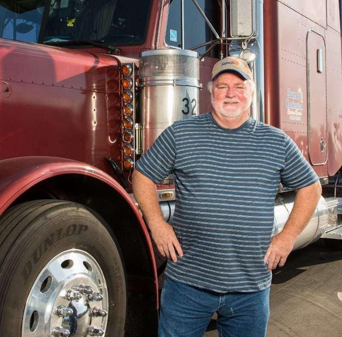 Owner-operator Bruce Johnston