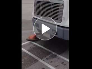'Harder than it looks' -- mainstream biz reporter takes big-truck wheel