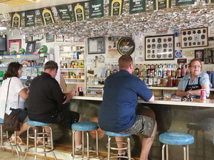 customers at the Little AleInn