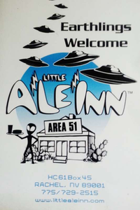 Little AleInn menu cover