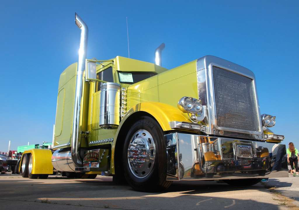 List of winners for Walcott\'s Super Truck competition