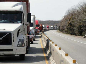 Just another day stuck on I-40 between Little Rock and Memphis. No traffic was moving in either direction when this photo was taken in March. | Photo by Kevin Jones