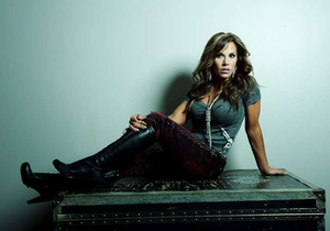 Professional wrestler and performer Mickie James' website you can find here.