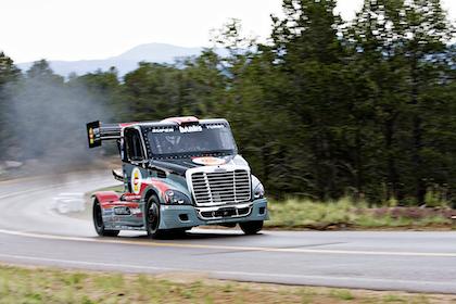 Gale Banks / Mike Ryan Racing super-turbo rig at Pike's Peak