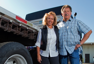 Tom and Karen Moore, independent owner-operators