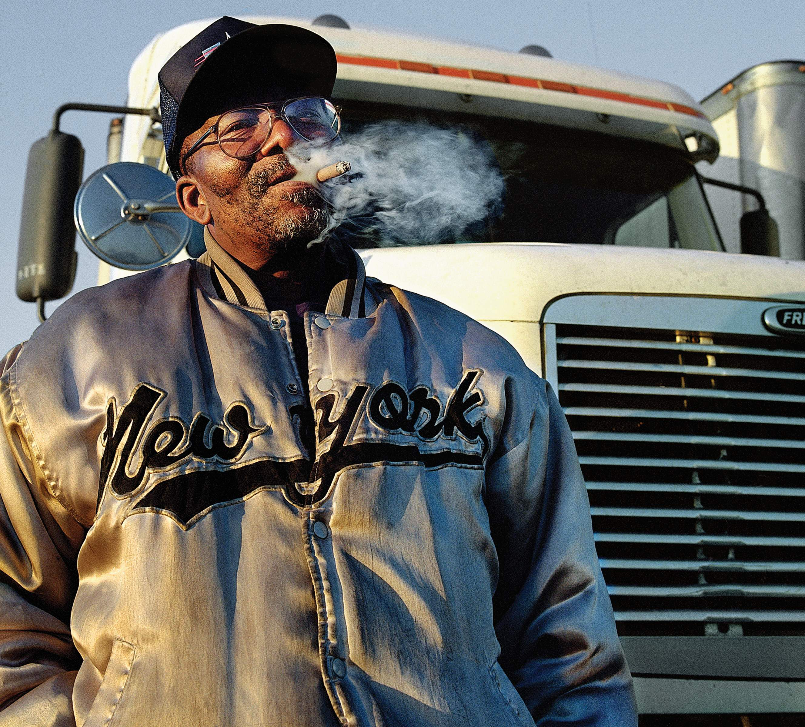 A rare glimpse into the trucking lifestyle