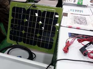 Healthy Battery solar panels