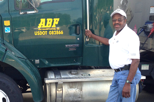Shelly York was honored by the Truckload Carriers Association for his actions.