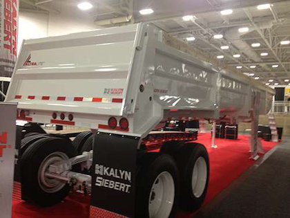 The ALTRALITE was announced at the Great American Trucking Show in Dallas this week.