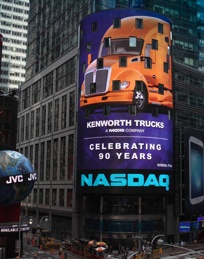 Kenworth T680 in Times Square