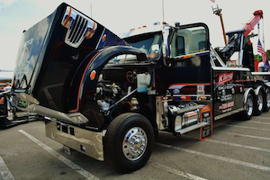The 2013 Kling Towing and Recover 122SD with wrecker body was among winners at Overdrive's Pride and Polish event last year in Florida.