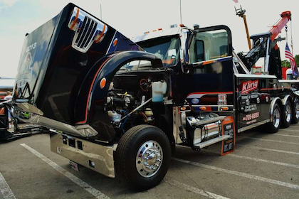 Showing strong: Kling Towing & Recovery's 2013 FL 122SD