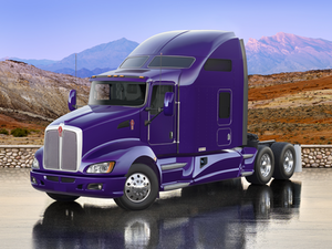 The next Signature truck will start with a Kenworth T660 glider kit, similar to this 2013 model. The goal is to achieve more than 9 mpg when pulling any standard trailer.