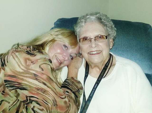 Wendy and her grandmother