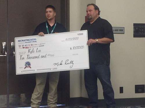 TMC's Kyle Lee named Trucking's Top Rookie, wins $25k in prizes