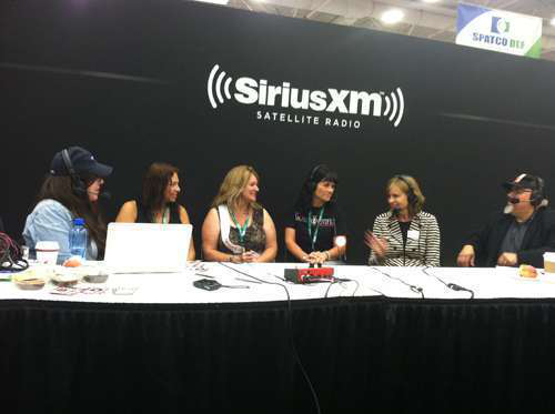 The finalists of the Overdrive's Most Beautiful Contest talk with Sirius XM Radio.