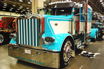 Jerry Mies' new Pete was a Best of Show winner at last week's Great American Trucking Show.