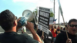 Tale of two CA ports in recent protest actions