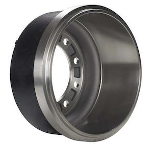 Accuride-Gunite-Silver-Lightweight-Brake-Drum