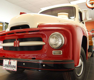 1955 International at Landmark International, Cookeville, Tennessee