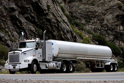 Author of this piece, Don Christner, drives the Kenworth pictured for Reed Hurst Trucking.