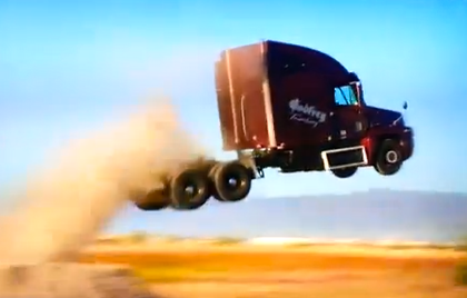 VIDEO: Utah Trucking Association president's recent daredevil past