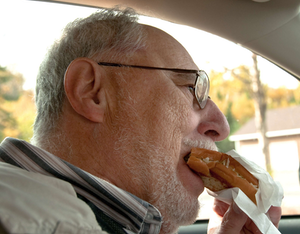 Not all fast food is created equally when it comes to eating while driving.