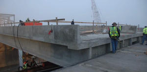 VIDEO: I-5 Skagit River bridge replacement slides into place