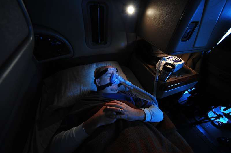 Sleep apnea bill becomes law, FMCSA can't use guidance to address driver screening