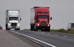 Driver-to-driver tip: Slow down for a passing rig