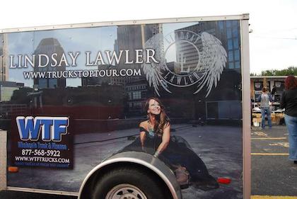 "Scenes from ""Highway Angel"" truck stop tour finale in Nashville"