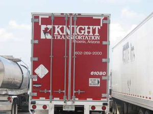 Knight making moves to buy USA Truck, original deal rejected