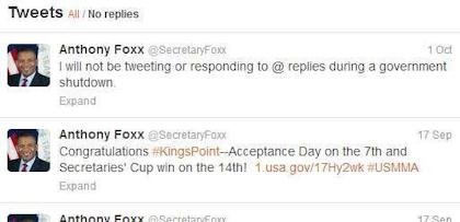 Anthony Foxx tweets