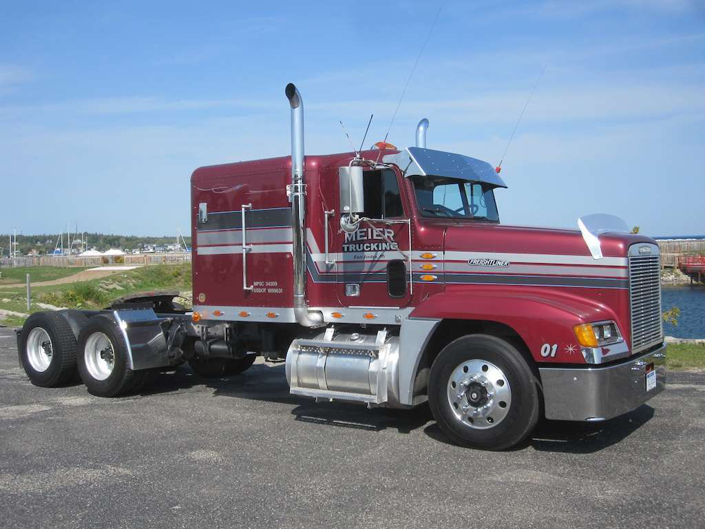 Chrome Bumpers For Fld 120 : Moving and shaking freightliner fld