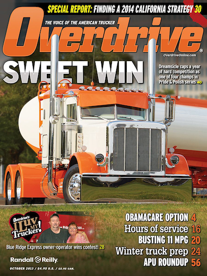 Overdrive October cover