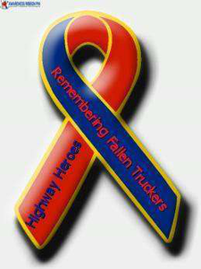 Ribbon for fallen drivers