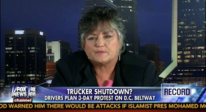 Ride promoter Zeeda Andrews, from her appearance on a Fox News program Tuesday, October 8