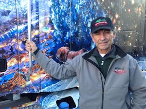 2013 U.S. Capitol Christmas tree lead driver Duane Brusseau