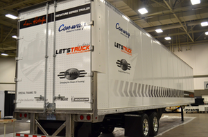 The Signature Series trailer was displayed in August at the Great American Trucking Show in Dallas.