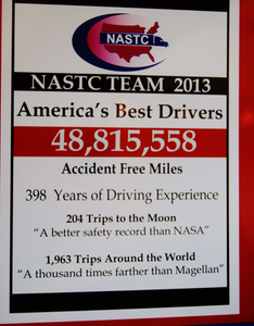 NASTC drivers of the year