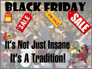 Black Friday: I vote no