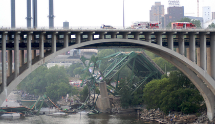 The collapse of the Minneapolis I-35W bridge effectively muted further discussion of the truck weights back then.