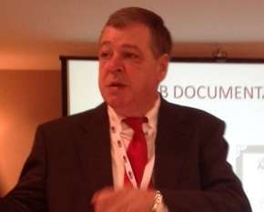 """CARB's enforcement strategy for its emissions regulations is increasingly involving tactics similar to what the FMCSA is doing with its CSA program, putting fear of liability implications into carrier customers. """"The supply chain is starting to run scared,"""" Joe Rajkovacz, pictured, said of CARB's growing enforcement. """"Say a one-truck guy gets popped in California -- if he leaves the state and never comes back, CARB's not going to pursue him. But they'll go after the shipper, the broker, the dispatcher. Shippers are now asking carriers for CARB compliance certificates.... [CARB is] trying to turn shippers/receivers/brokers into their unwitting enforcement agents."""""""